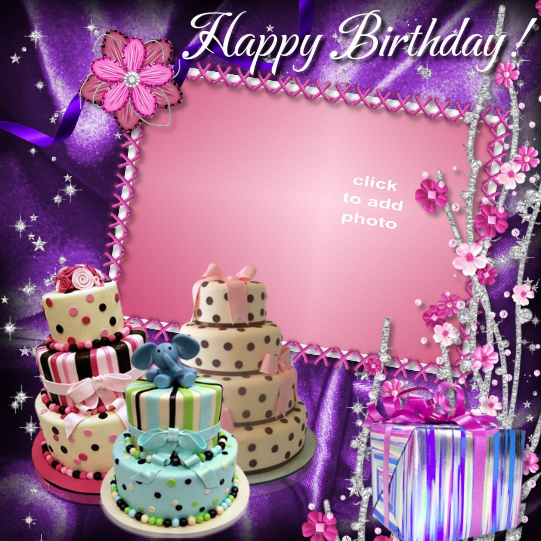 Imikimi Happy Birthday Cake Frames Atletischsport