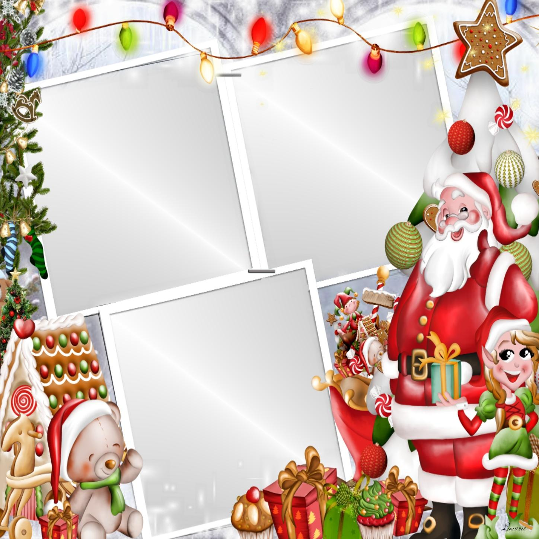 Imikimi Zo - Christma Frames - Ho Ho Ho Here comes Santa #Lisa9215 ...