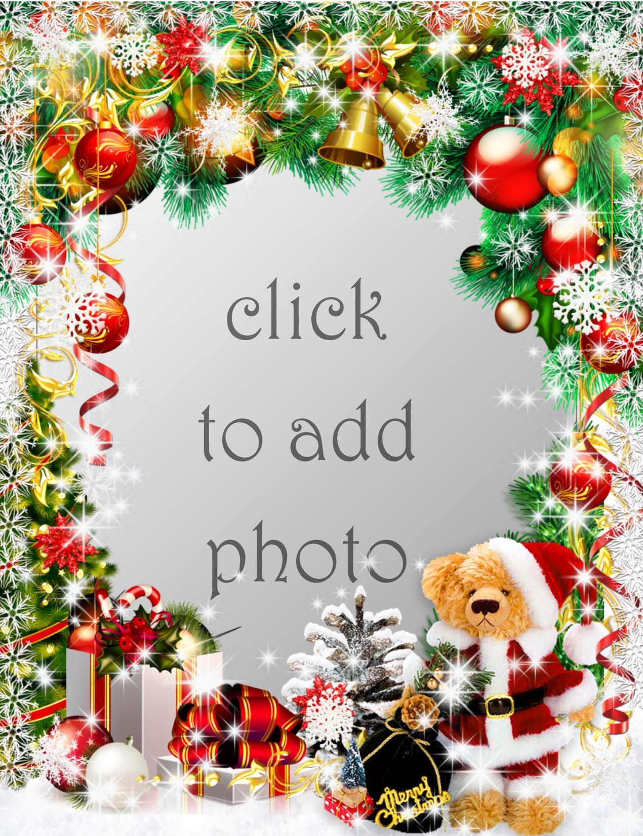 Imikimi Zo - Christma Frames - #Christmas Bear #Blauweisser ...