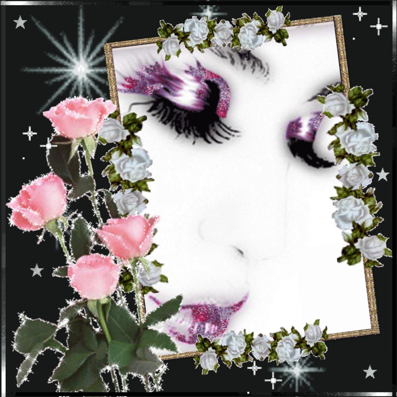 Imikimi Zo - Kimi Art Frames - white -rose flower Thank You For ...