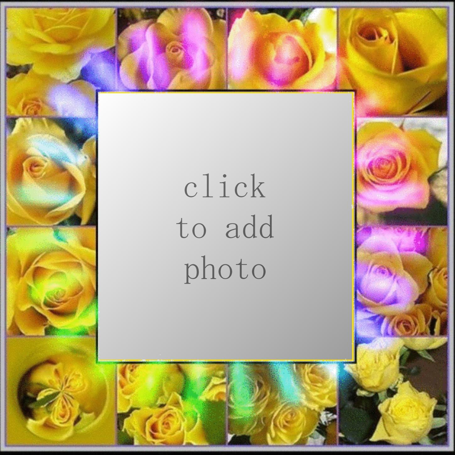 Imikimi Zo - Picture Frames - Yellow rose frame Thank you for using ...
