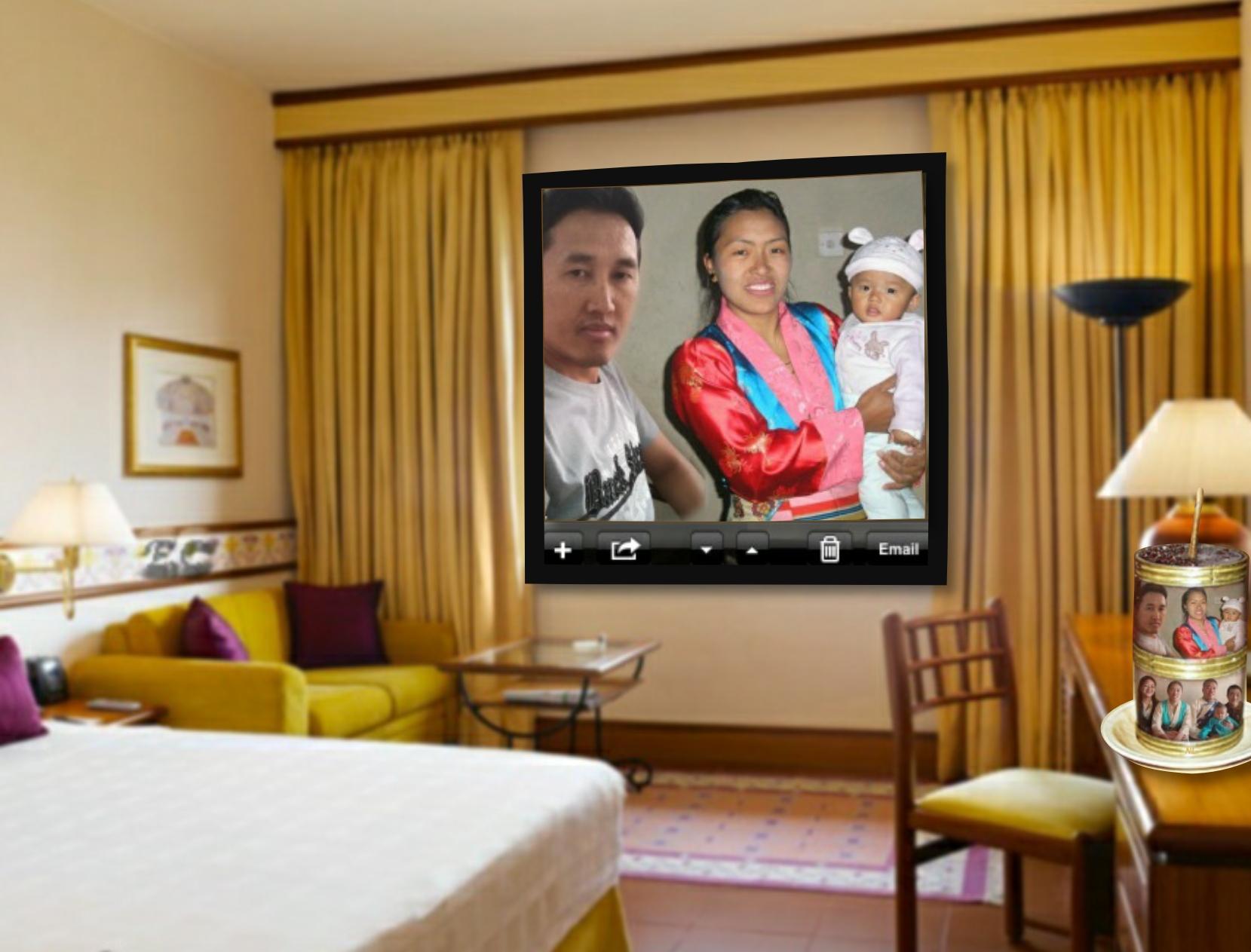 ngima108\'s Picture Frames - 2011 June - Nepali Bedroom frame. Solu ...
