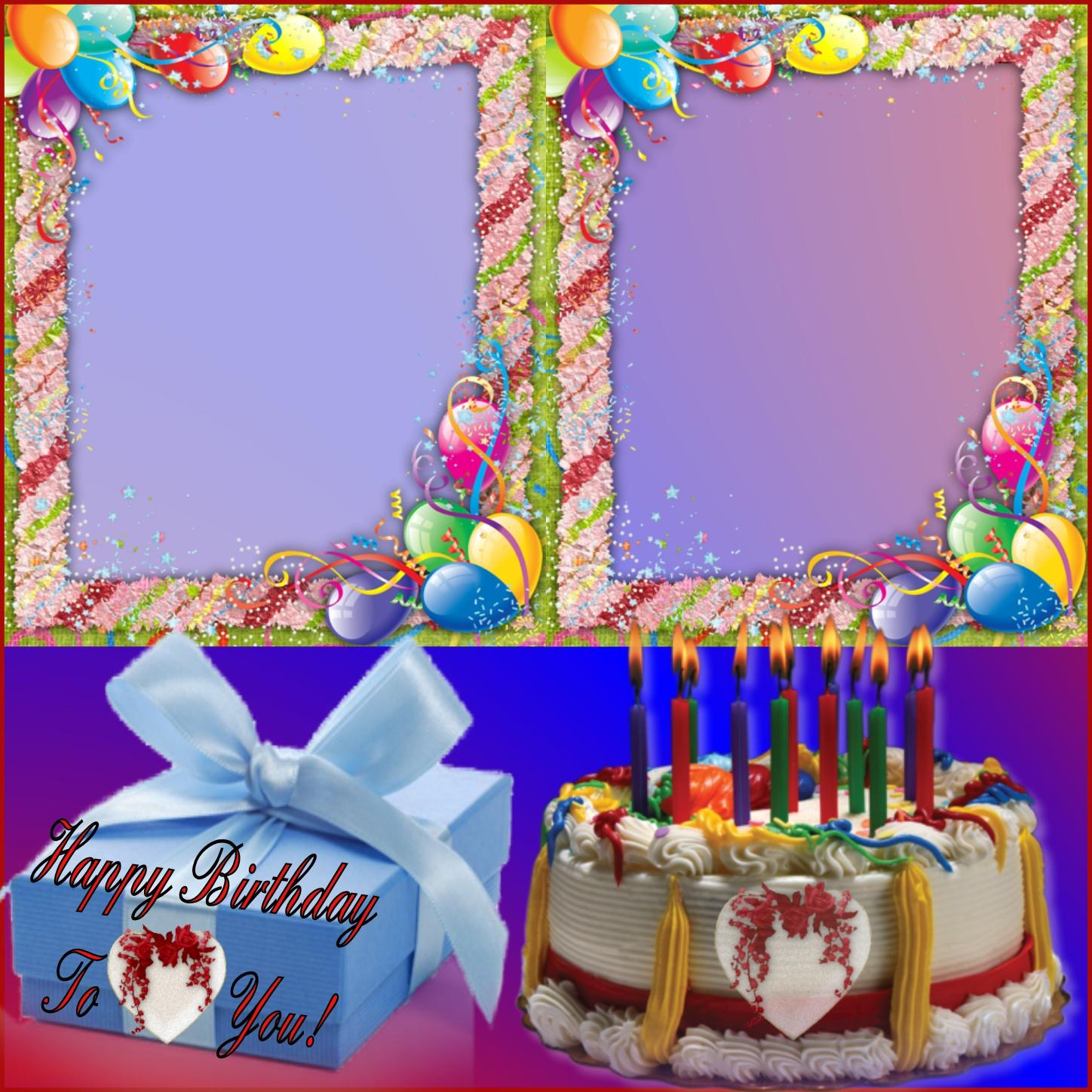 Imikimi Zo - Birthday Frames - Happy Birthday Twin Frames #Norafg62 ...