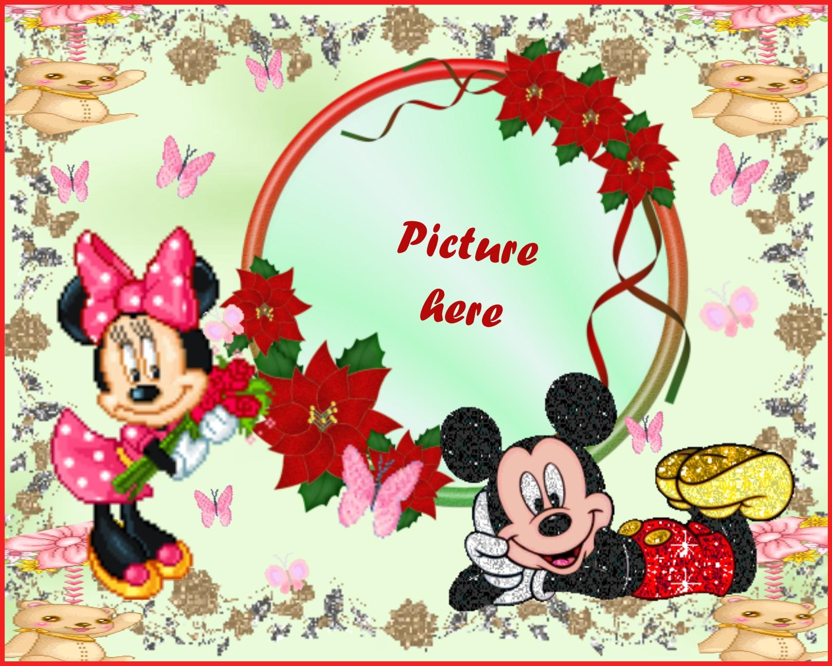 Imikimi Zo - Kid Photo Album Frames - Mickey and Minnie Frame ...