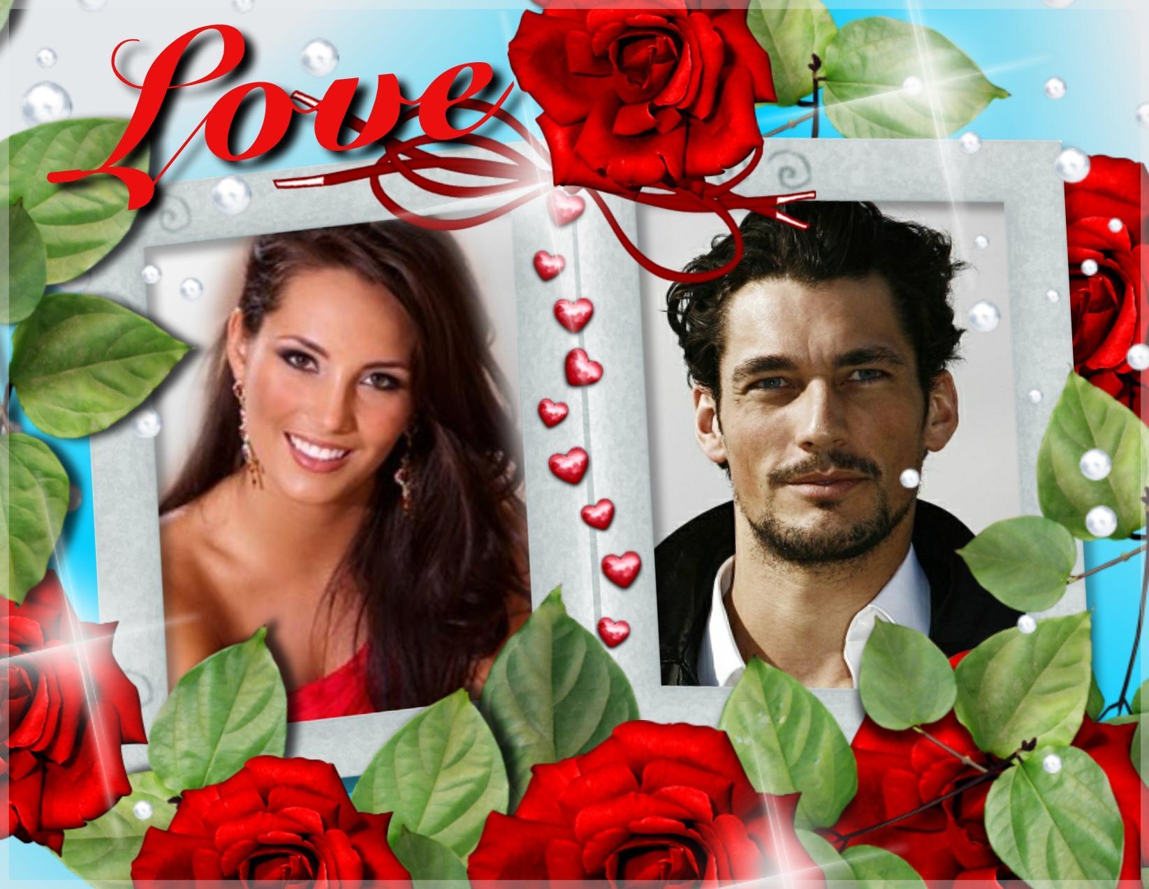 Imikimi Zo - Special Day Frames - love you love valentine rose frame ...
