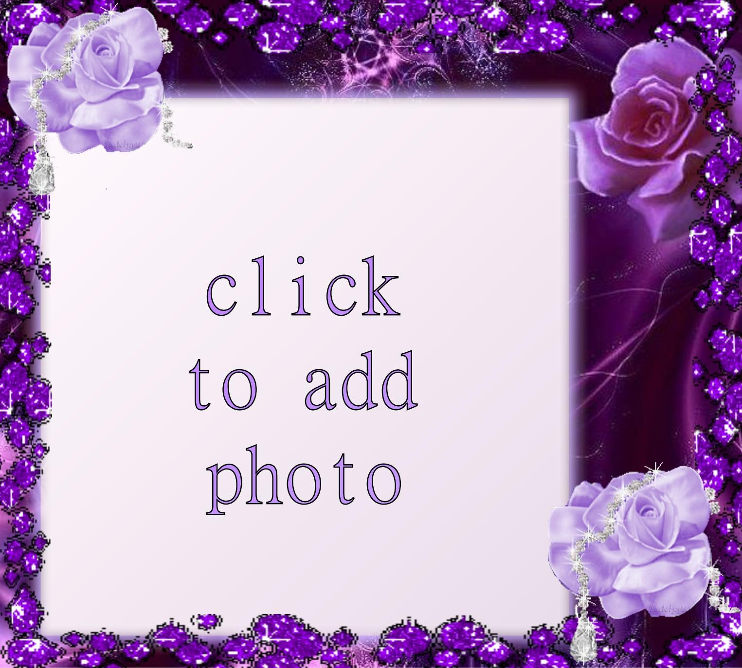 Imikimi Zo - Picture Frames - Lavender ROSE_GLITTER - norafg62