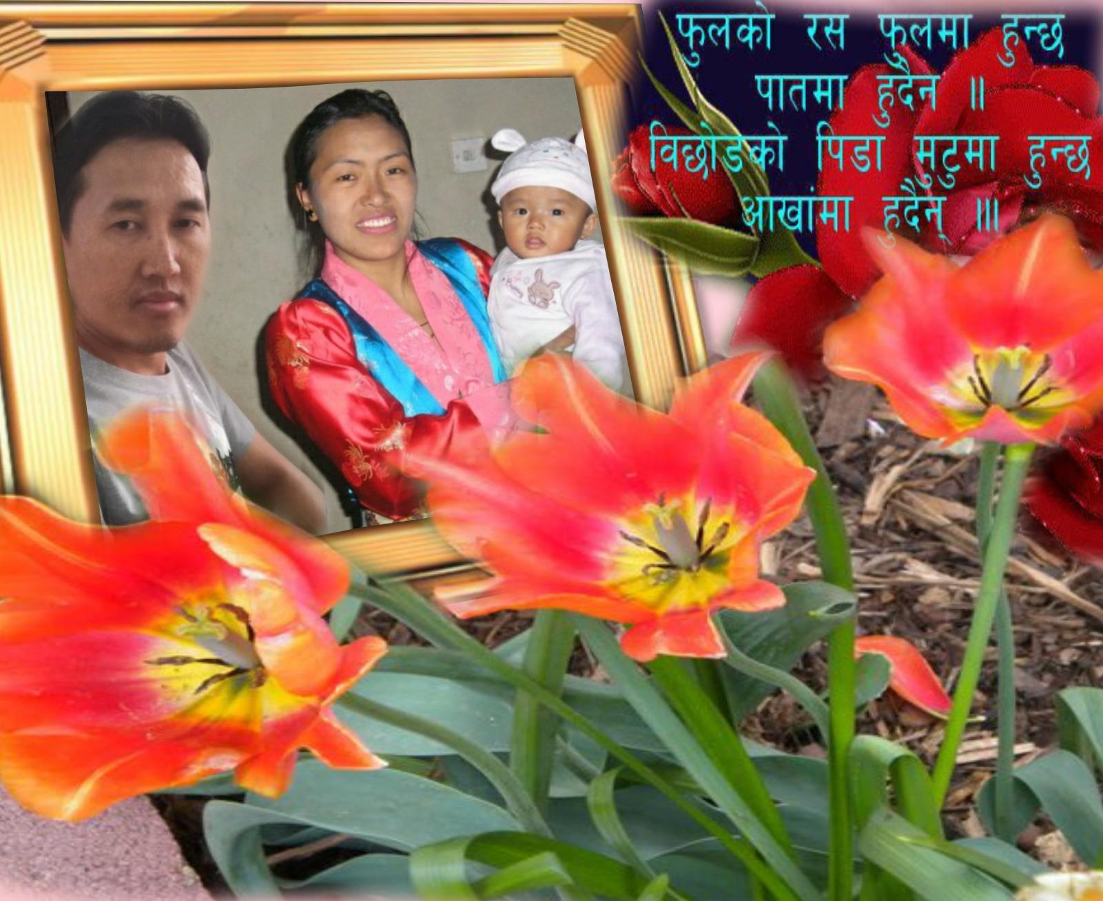 Imikimi Zo - Picture Frames - Nepali flower picture frame - ngima108