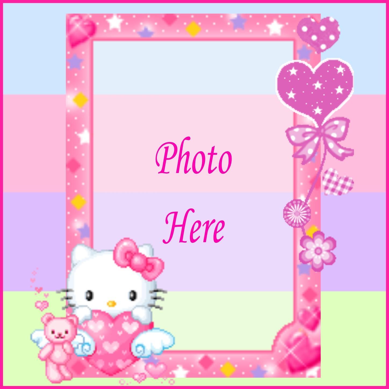 Fantastisch Hello Kitty Picture Frames Zeitgenössisch - Bilderrahmen ...