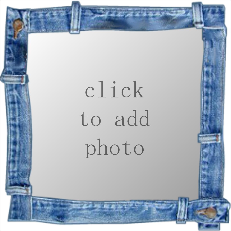 Imikimi Zo - Kimi Art Frames - Blue jeans frame Thank you for using ...