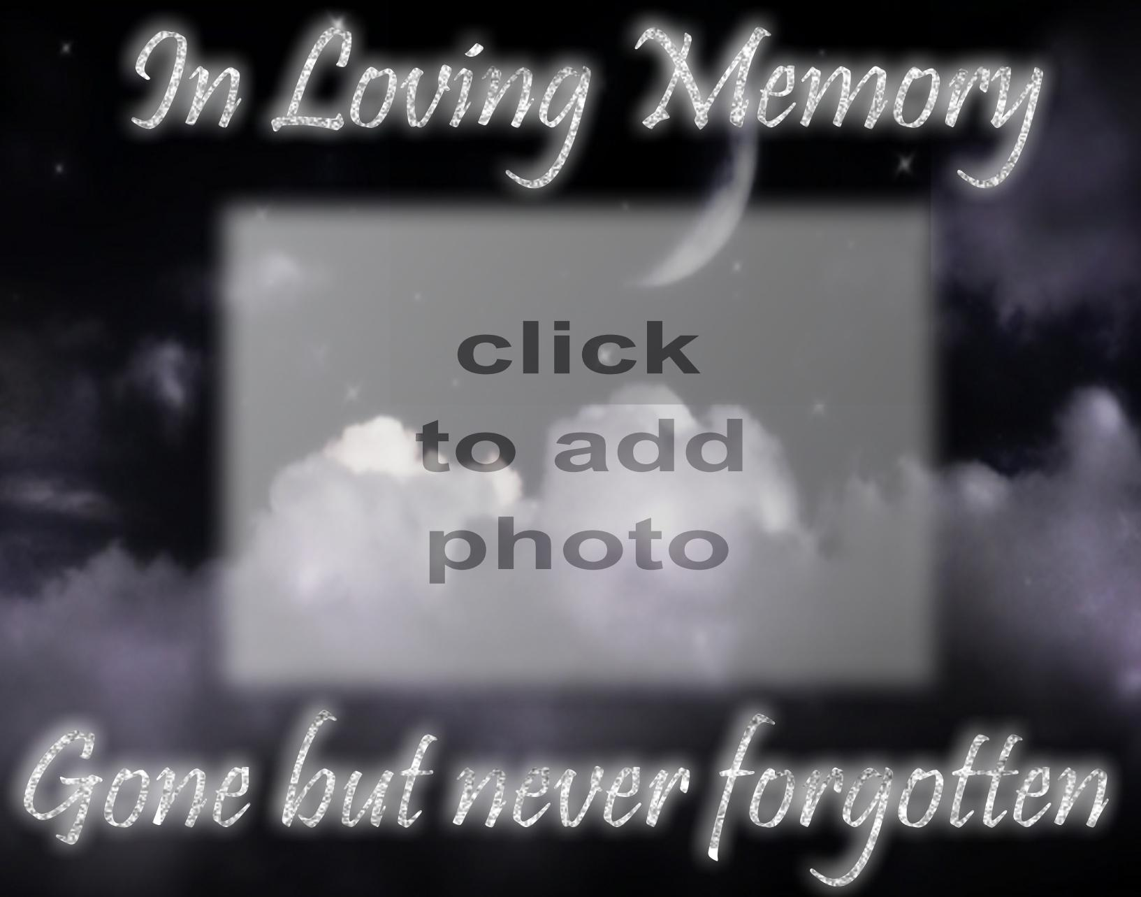 Imikimi Zo - Kimi Frames - 2008 January - In loving memory glitter ...
