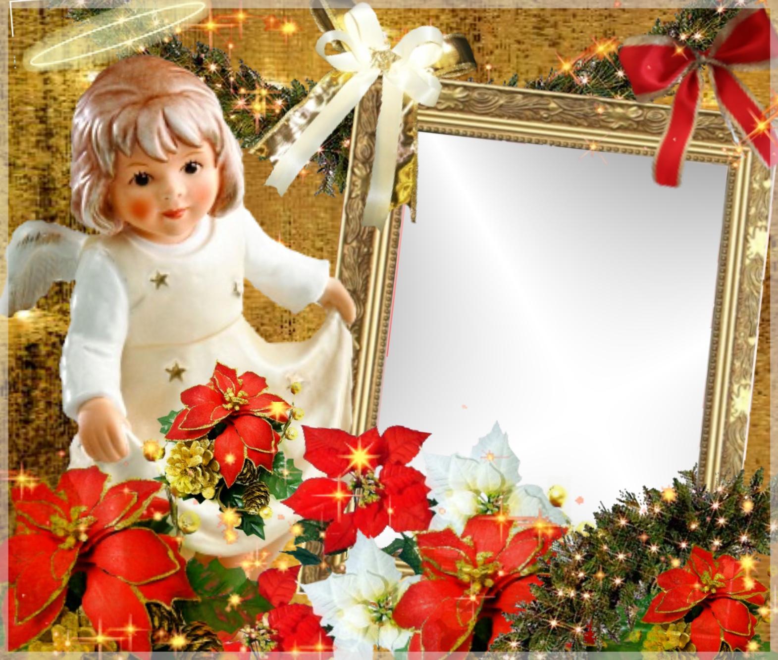 Imikimi Zo - Winter Frames - christmas angel merry christmas angel ...
