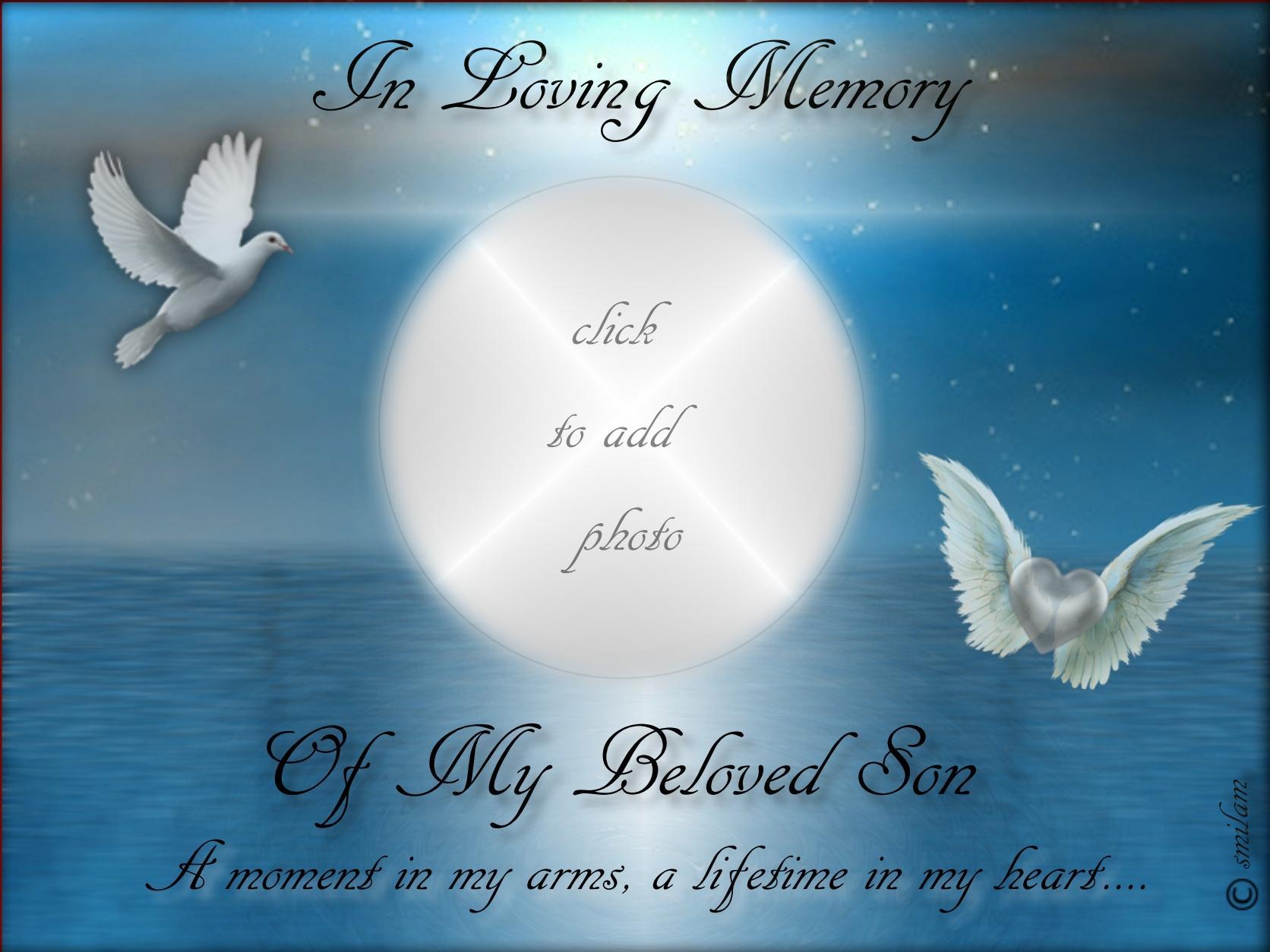 Imikimi Zo - In Memory Of... Frames - In Loving Memory o My Beloved ...