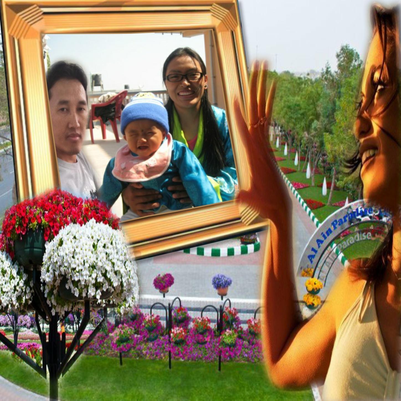 Imikimi Zo - Picture Frames - Nepali Beutiful Garden picture - ngima108